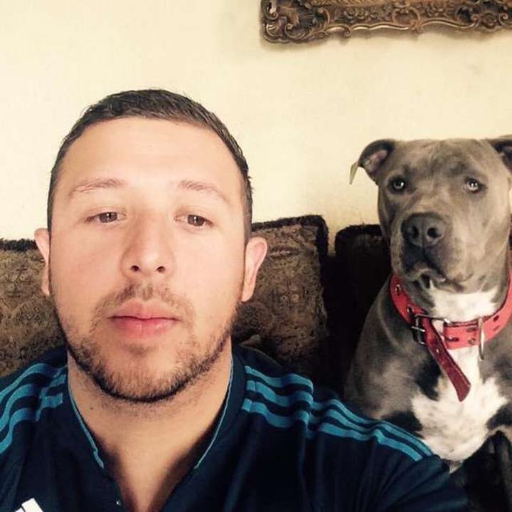 Juan José y su mascota