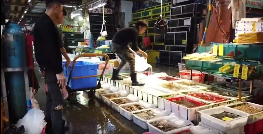 Mercado de comida china, Beijing