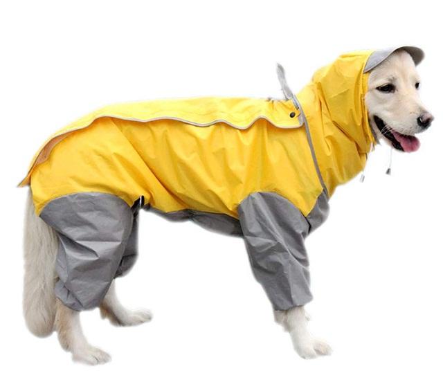 Impermeable Mikayoo ajustable para perros